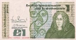 Ireland 1 Pound, P-70d - UNC - Irland