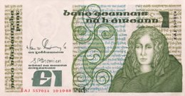 Ireland 1 Pound, P-70d - UNC - Ireland