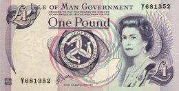 Isle Of Man 1 Pound, P-40b - UNC - Signature 6 - [ 4] Isle Of Man / Channel Island
