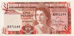 Gibraltar 1 Pound, P-20c (10.11.83) - UNC - Gibraltar