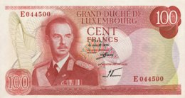 Luxembourg 100 Francs, P-56 (15.7.1970) - UNC - Luxembourg