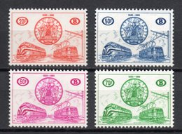 BELGIE 1960 SP 269/72 CONGRES SCAN NIEUW NEUF POSTFRIS FRAICHEUR POSTALE  MNH ** - Chemins De Fer