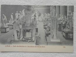Cpa Liege Salle Des Modèles Académie Des Beaux Arts Expo 1905 - Luik