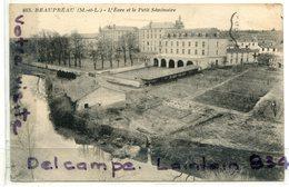 -463 - BEAUPREAU - ( M Et Lo ), L'Evre Et Le Petit Séminaire, épaisse, écrite, BE, Scans. - Autres Communes