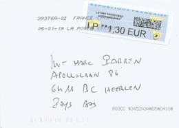 France 2019 Peyrehorade Meter Avions En Papier Internationale With QR-code ATM EMA Cover - 2000 «Avions En Papier»