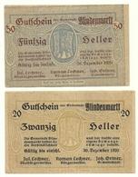 1920 - Austria - Blindenmarkt Notgeld N82 - Austria