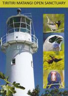 1 AK New Zealand * Tiritiri Matangi Island - Leuchtturm Und Sehr Seltene Vögel * Die Insel Liegt Im Hauraki Gulf * - Nouvelle-Zélande