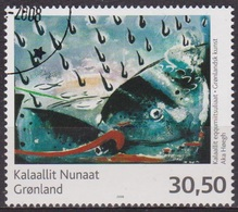 Art Moderne, Peinture - GROENLAND - Poisson, Aka Haegh - N° 483 - 2008 - Groenland