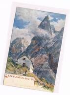 089 E.T.Compton Grasleitenhütte Dolomiten Künstlerkarte - Ohne Zuordnung