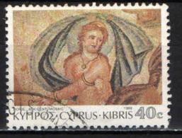 CIPRO - 1989 - DORIS - MOSAICO DI PAPHOS - USATO - Cipro (Repubblica)