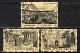 CIPRO - 1984 - INCISIONI DI SIPRO DEL XIX SECOLO - USATI - Cipro (Repubblica)