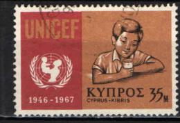 CIPRO - 1968 - UNICEF - USATO - Cipro (Repubblica)