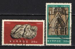CIPRO - 1966 - EROS DORMIENTE - CATTEDRALE DI SAN NICOLA - USATI - Cipro (Repubblica)