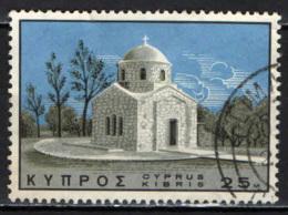 CIPRO - 1966 - CHIESA DI S. BARNABA - USATO - Cipro (Repubblica)