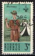 CIPRO - 1963 - 3^ CONFERENZA SCOUTISTICA DEL COMMONWEALTH - USATO - Cipro (Repubblica)