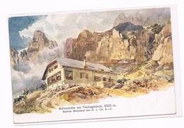 115 E.T.Compton Kölner-Hütte Dolomiten Künstlerkarte - Ohne Zuordnung