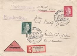 Allemagne Lettre Recommandée München-Riem 1942 - Germany