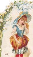 FRP-19-333 : CHOCOLAT POULAIN.  FLEURS. ENFANTS. AOUT. - Poulain
