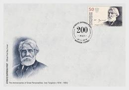 Kirgizië / Kyrgyzstan -  Postfris / MNH - FDC Ivan Turgenev 2018 - Kirgizië