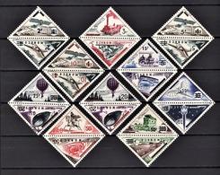 MONACO 1956 -  SERIE Y.T.  N° 453 ET 472 -  20 TP NEUFS** /2 - Monaco