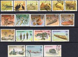 Zimbabwe 1990 Definitives Set Of 18, Used, SG 768/85 (BA) - Zimbabwe (1980-...)