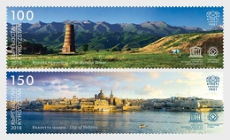 Kirgizië / Kyrgyzstan -  Postfris / MNH - Complete Set Joint-Issue Malta 2018 - Kirghizistan