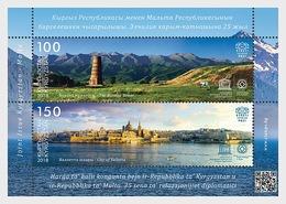 Kirgizië / Kyrgyzstan -  Postfris / MNH - Sheet Joint-Issue Malta 2018 - Kirghizistan
