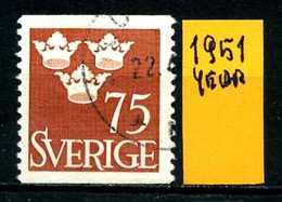 SVEZIA - SVERIGE - Year 1951 - Usato - Used - Utilisè - Gebraucht.- - Zweden