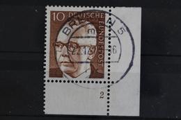 Deutschland (BRD), MiNr. 636, Ecke Rechts Unten, FN 2, Gestempelt - [7] République Fédérale