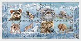 Kirgizië / Kyrgyzstan -  Postfris / MNH - Sheet Dieren 2018 - Kirghizistan