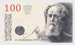 Kirgizië / Kyrgyzstan -  Postfris / MNH - Aleksandr Solzhenitsyn 2018 - Kirgizië