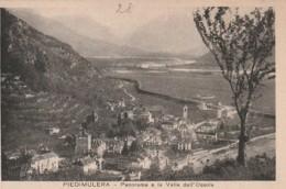 ***  PIEMONT  *** PIEDIMULERA Panorama E La Valle Dell Ossola  - Unused TTB - Italia
