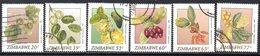 Zimbabwe 1991 Wild Fruits I Set Of 6, Used, SG 810/5 (BA) - Zimbabwe (1980-...)