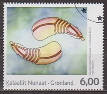 Art Moderne, Peinture - GROENLAND - La Culture Dorset, Os De Baleine Sculpté - N° 516 - 2009 - Groenland