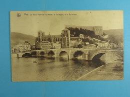 Huy Le Vieux Pont Sur La Meuse, La Collégiale Et La Forteresse - Huy