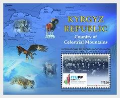 Kirgizië / Kyrgyzstan -  Postfris / MNH - Sheet Telecommunicatie 2018 - Kirghizistan