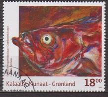 Art Moderne, Peinture - GROENLAND - Fenetre Sur Le Monde: Poisson Rouge - N° 517 - 2009 - Groenland
