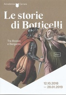 # Le Storie Di Botticelli, Tra Boston E Bergamo - Cartolina Pubblicitaria Della Mostra - Musei