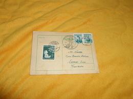 CARTE POSTALE CIRCULEE DE 1953. / AUTRICHE. CACHETS WIEN ET CHRISTKINDL + TIMBRES X3. - Austria