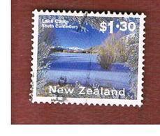 NUOVA ZELANDA (NEW ZEALAND) - SG 1934d  -  1995 SCENERY:  LAKE CAMP         -  USED° - New Zealand