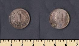 British Honduras 1 Cent 1954 - Honduras