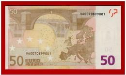 50 EURO M057 G5   SPAIN - ESPANHA - ESPAÑA M057G5 - V60070899001 - DRAGHI - UNC NEUF FDS - EURO