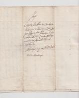 1790 - Lettera Manoscritta (vendita Di Un Terreno - Luogo: Sardegna, Lingua: Spagnolo). - Manoscritti