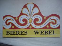 BIERE WEBEL Chapeau Publicitaire Brasserie WEBEL TOURS Indre Et Loire (37) Disparue Aujourd'hui - Autres Collections