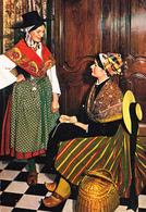 CPM- Costumes D'OCCITANIE - Paysannes GASCOGNE Et TOULOUSAINE  ** 2 SCANS - Costumes