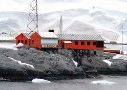 1 AK Antarctica * Melchior Station (Argentina) Auf Gamma Island - Diese Insel Liegt An Der Antarktischen Halbinsel * - Postcards