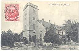 Cpa Antilles - Barbados / Barbade - The Cathedral, St Michael - Barbades