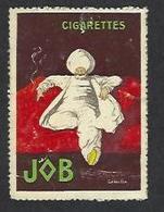 Vignette Cappiello Job Cigarettes 5 X 3,5 - Advertising