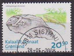 Fossile - GROENLAND - Ichthyostega, Tetrapode - N° 493 - 2008 - Groenland
