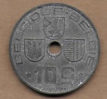 10 Centimes Zinc 1943 FR-FL - 02. 10 Centimes